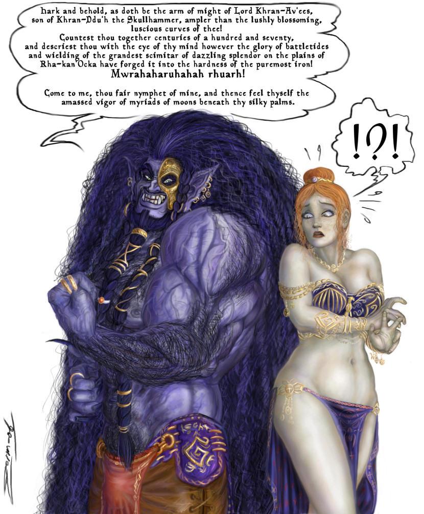 Flirt Like a Caveman by zorm