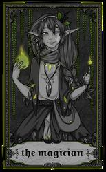 ARCANA - The Magician by PrettyPumpkinhead