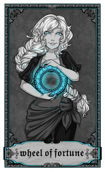 ARCANA - Wheel Of Fortune by PrettyPumpkinhead