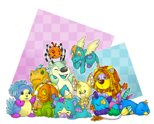 Plushie Party by PrettyPumpkinhead