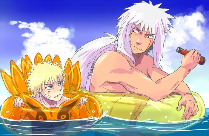 Sea bathing by Lantern6