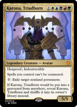 Karona, Triadborn (April Contest)