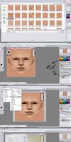 Editing Sims Skin Tutorial