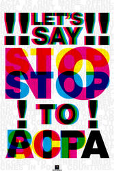 STOP SOPA, PIPA and ACTA by piotr554