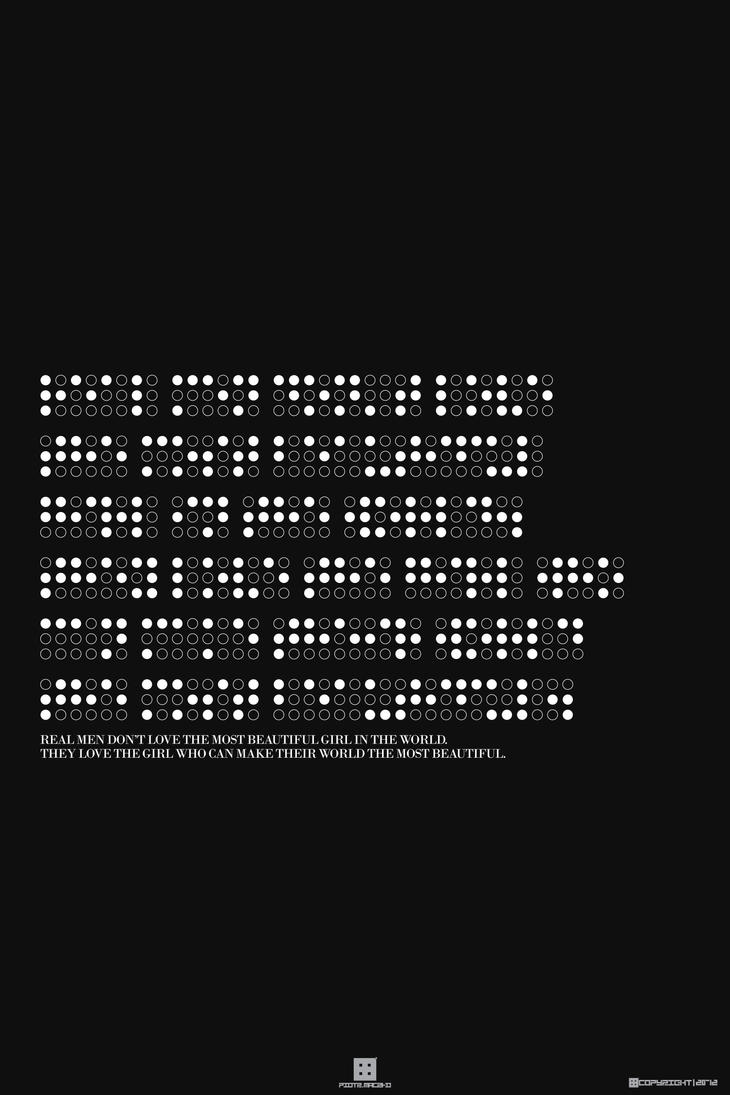 Braille's Typography by piotr554