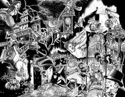 'Cirque de Morgue' (Scaretale) by AmaranthMB