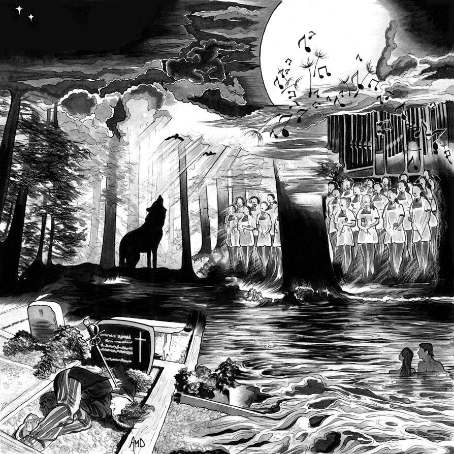 Blue Memory (Ghost Love Score, pt. 1) by AmaranthMB