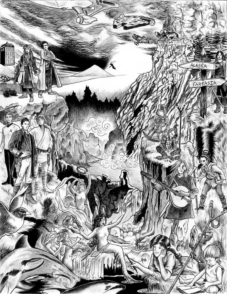 'The Journey That Matters' (Wanderlust) by AmaranthMB
