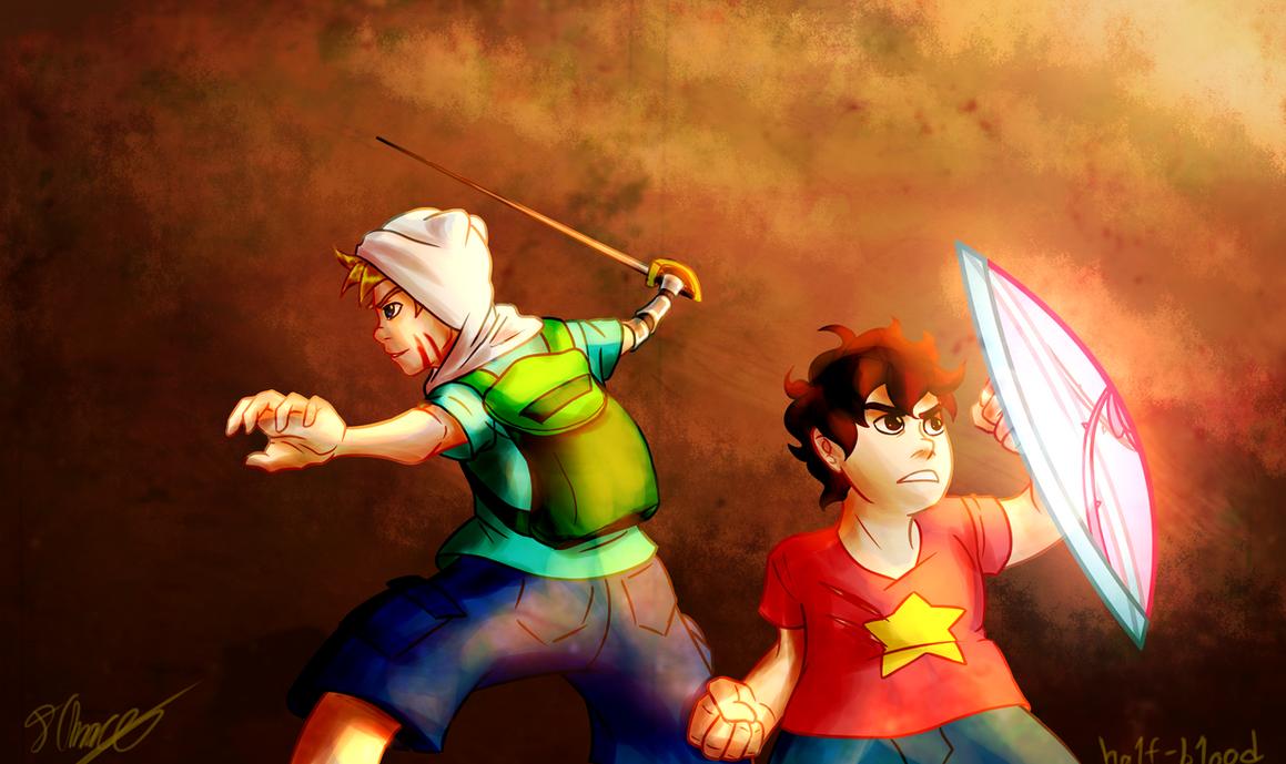 Gem Warriors SPEEDPAINT by Ha1f-B1ood