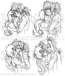 Grumpy Girlfriend Cuddles.