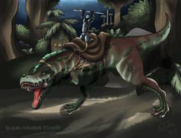 ARK: Tyrannosaurus Rider