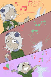 AT: KKM: Musical fun by rays-animelover