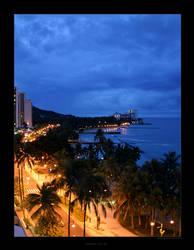 Waikiki 6:51 AM by SpicyHamster