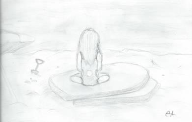 Beach Baby by writeacrossme
