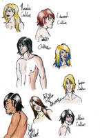 Twilight Sketches by Jesalynn