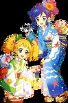 [Render 135] Ki Saegusa and Aoi Kiriya
