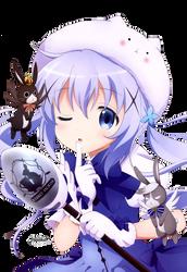 [Render #158] Chino Kafuu by stella-reina