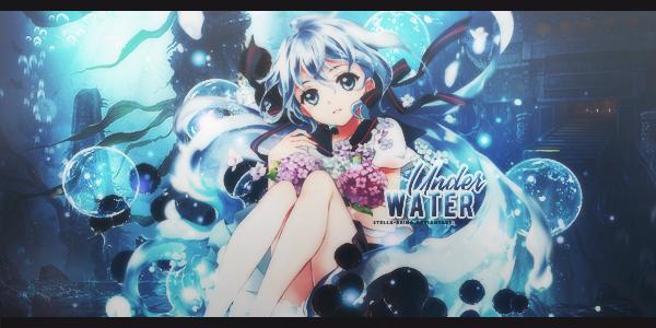 [Art #31] Underwater by stella-reina