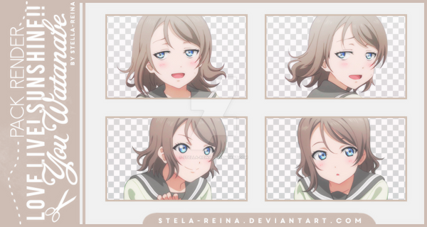 [Love Live! Sunshine!! Render] You Watanabe by stella-reina