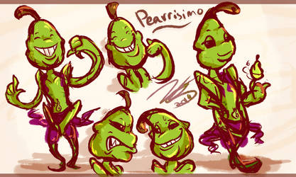 Pearrisimo Doodles by Nights2Dreams