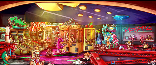 JackpotOct: The Arcade Center by Nights2Dreams