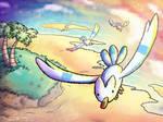 Wingul with a Yoshi's island twist