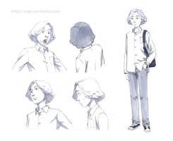 Original character rough sketch