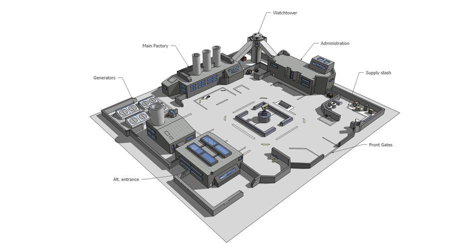 Industrial Park by multihawk on DeviantArt
