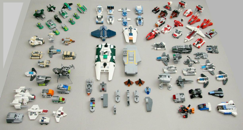 Lego Small Scale Build Th