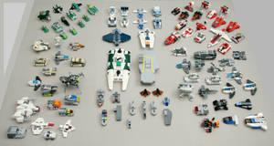 Lego Microscale collection by multihawk