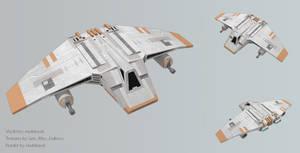 V-Wing Airspeeder Render