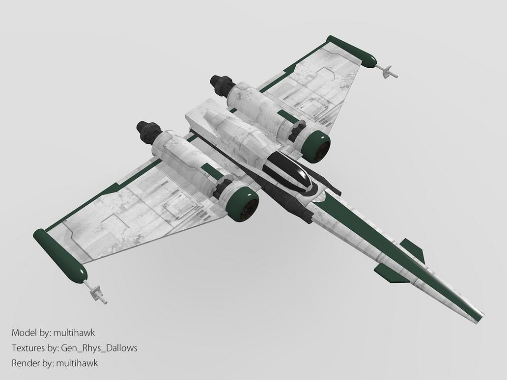 Clone Z-95 Headhunter by multihawk
