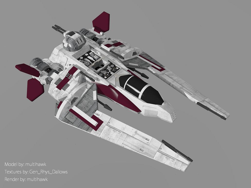Jedi Scout Fighter by multihawk