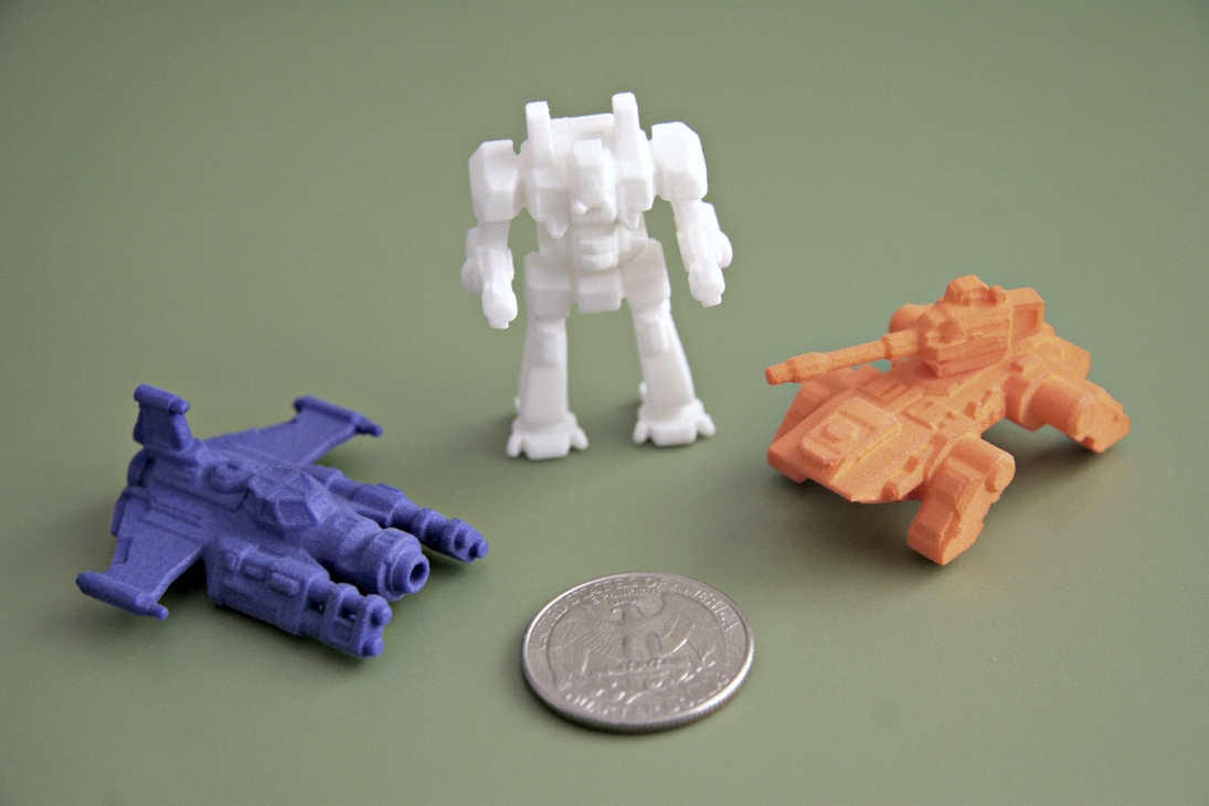 Mini 3d Printed Collection by multihawk