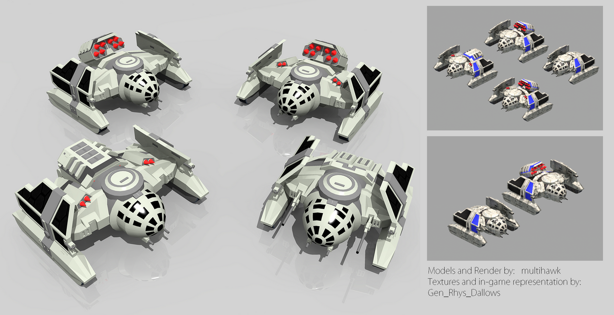 TIE Tanks and Variants by multihawk