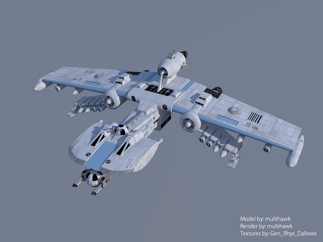 K-Wing Starfighter by multihawk