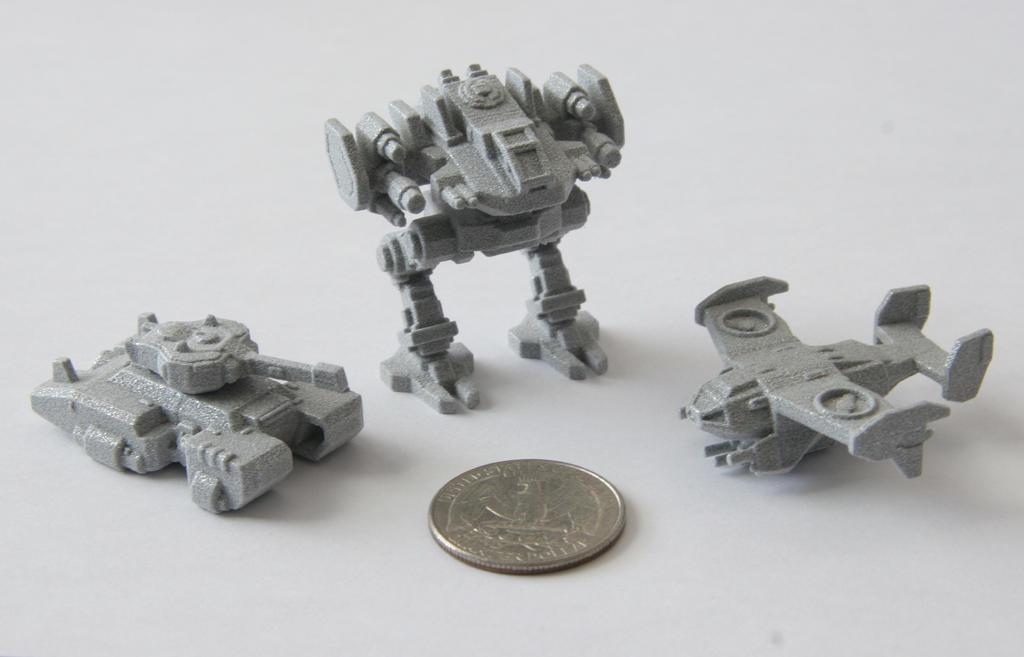 Polished Metallic Minis' by multihawk