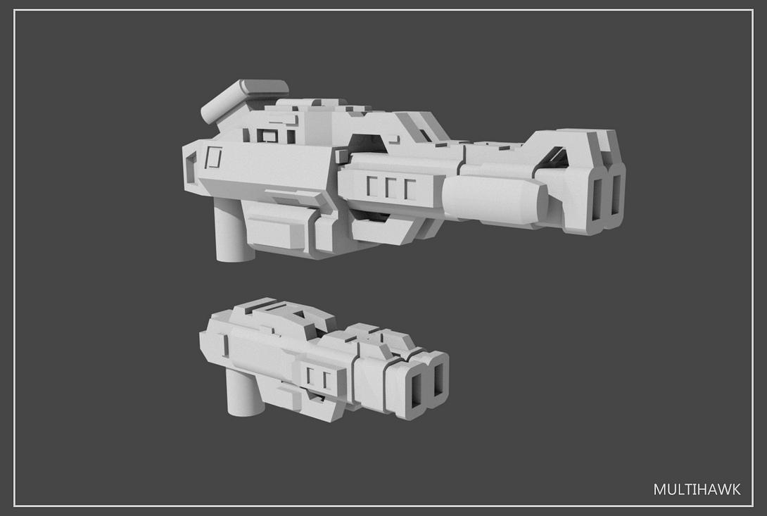 5mm Transformers Weapons Set#2 by multihawk