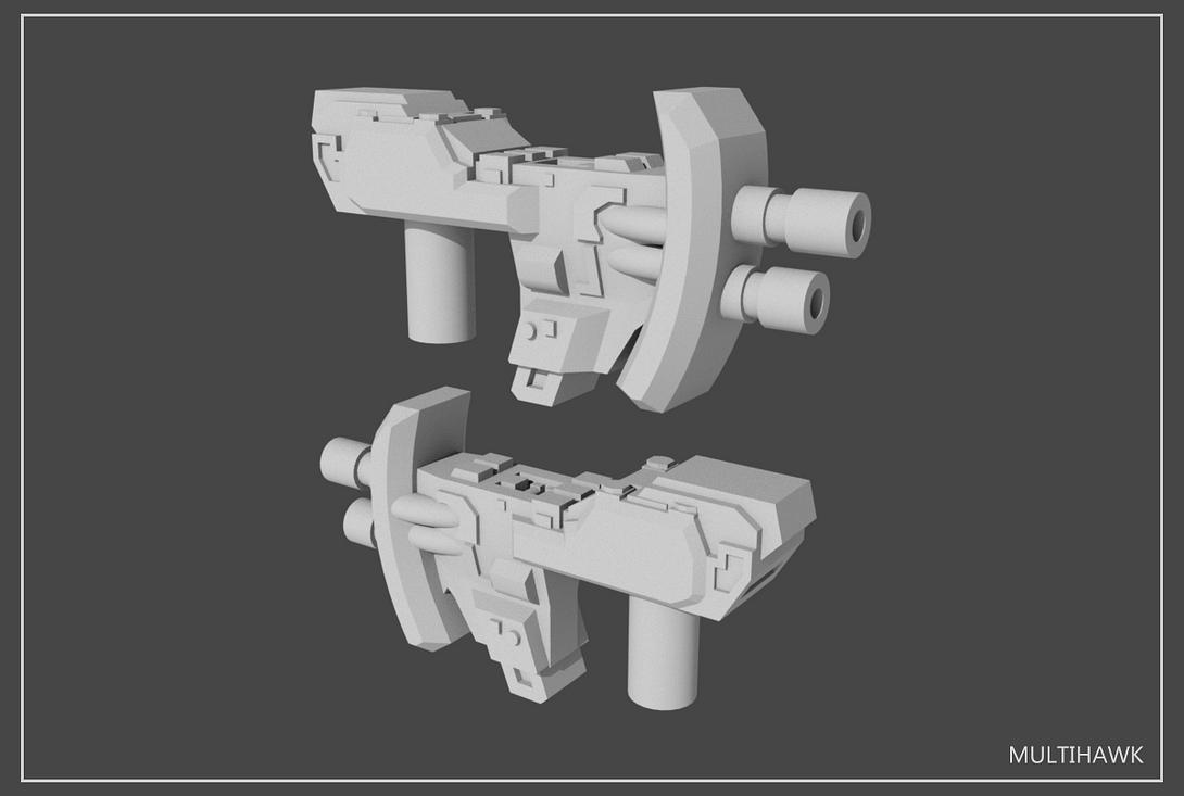 5mm Transformers Weapons Set#3 by multihawk