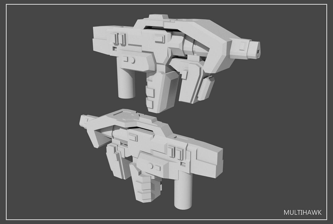 5mm Transformers Weapons Set#4 by multihawk