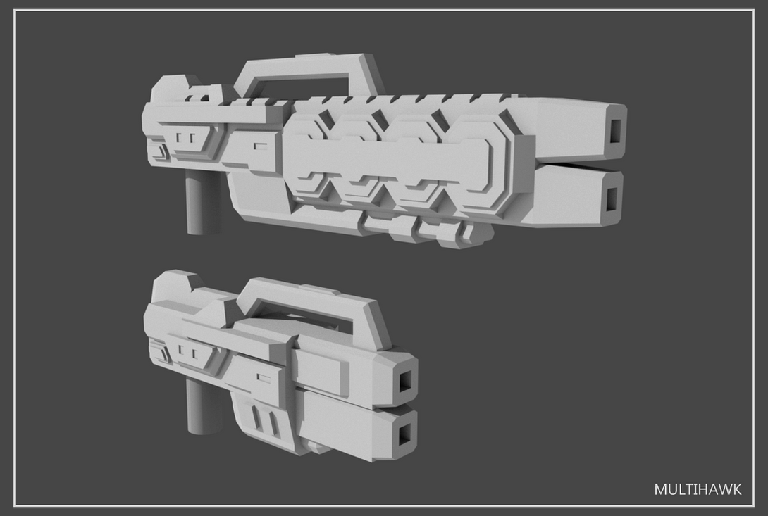 5mm Transformers Weapons Set#5 by multihawk