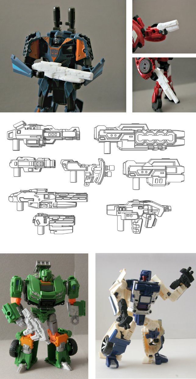 Custom Transformers Weapons Compilation by multihawk