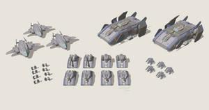 Futuristic Military Faction by multihawk