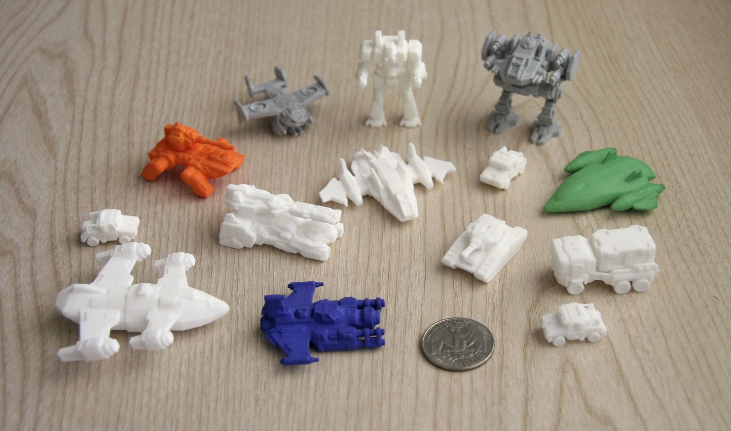 3d Printed Miniatures Collection From Shapeways By