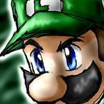 Luigi closeup