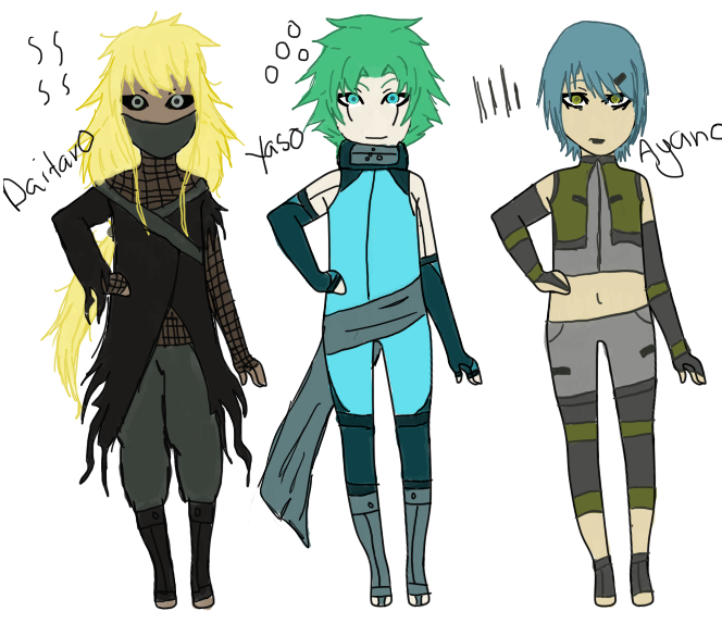Naruto Oc For Story-Rouge Ninja's By ShayFace On DeviantArt