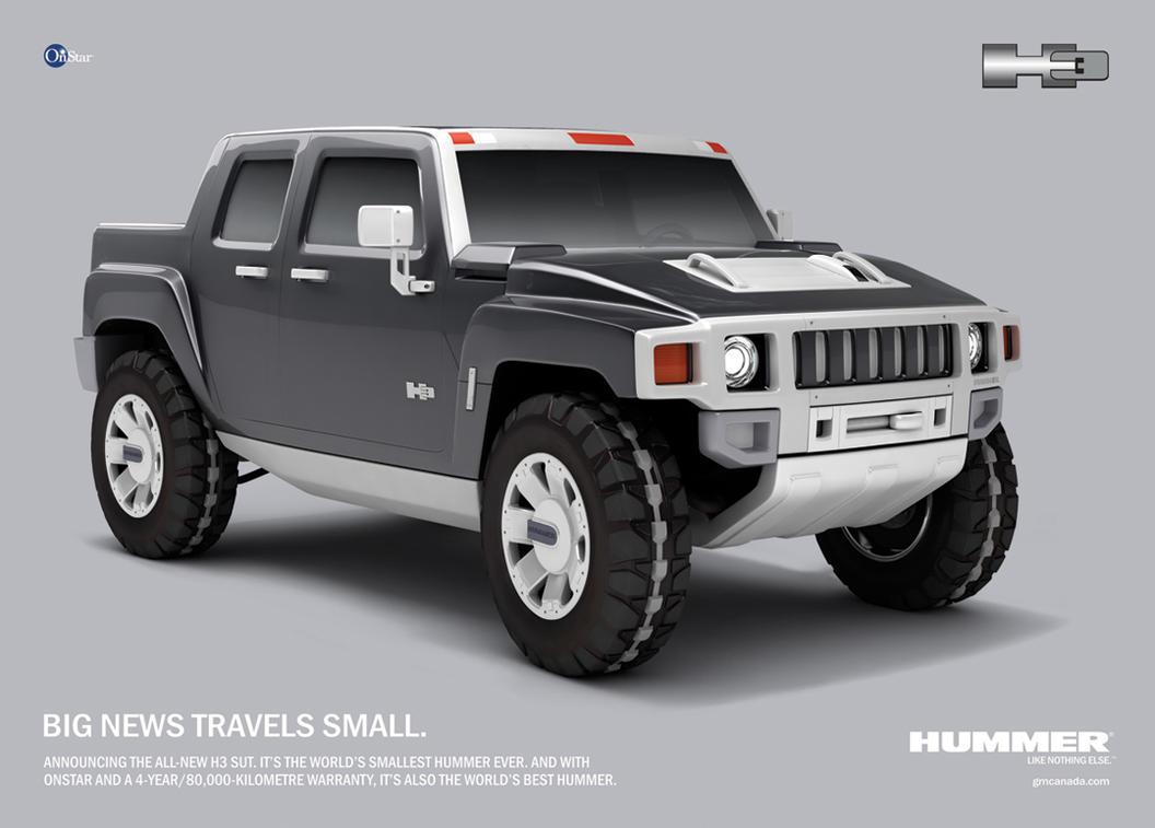 Hummer H3 Concept By Supersalzman On Deviantart