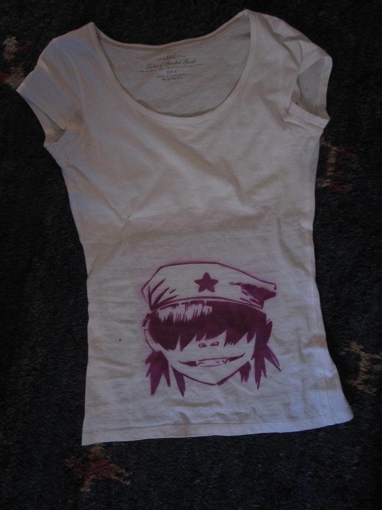 Custom shirt: Cyborg noodle by BikoToughenUp