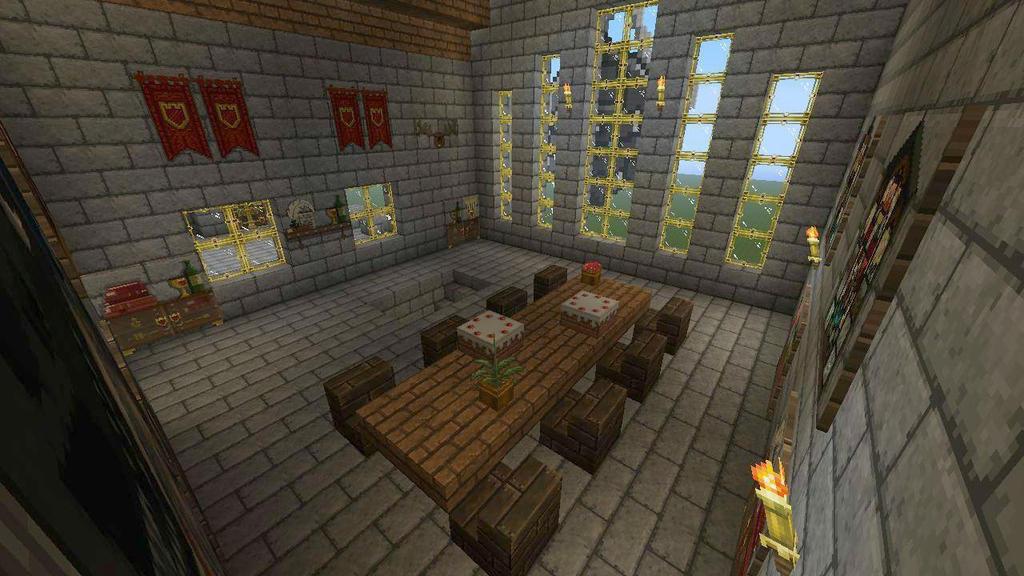 Castle Interior Minecraft Bexrani Deviantart