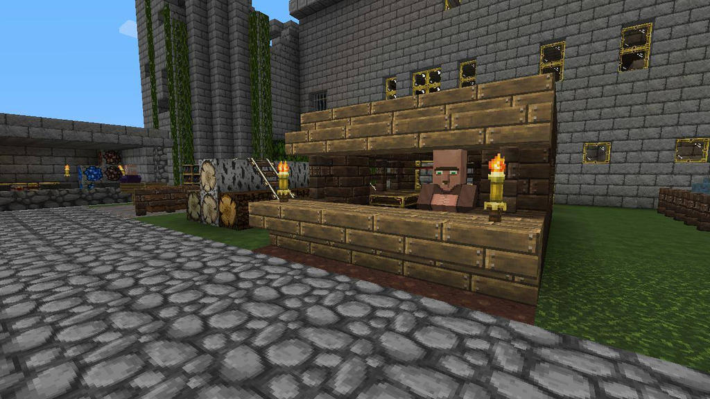 minecraft how to build a medieval village